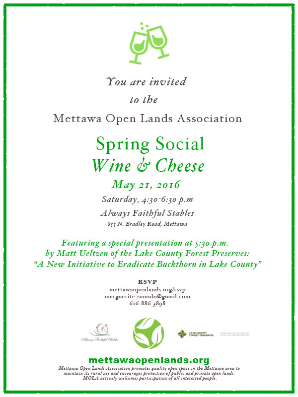 Rsvp mettawa open lands association encouraging quality open space stopboris Image collections